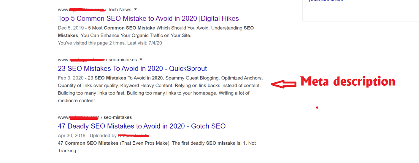 Common SEO Mistakes In 2020